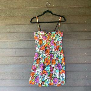 Balconette Multi-Colored Dress